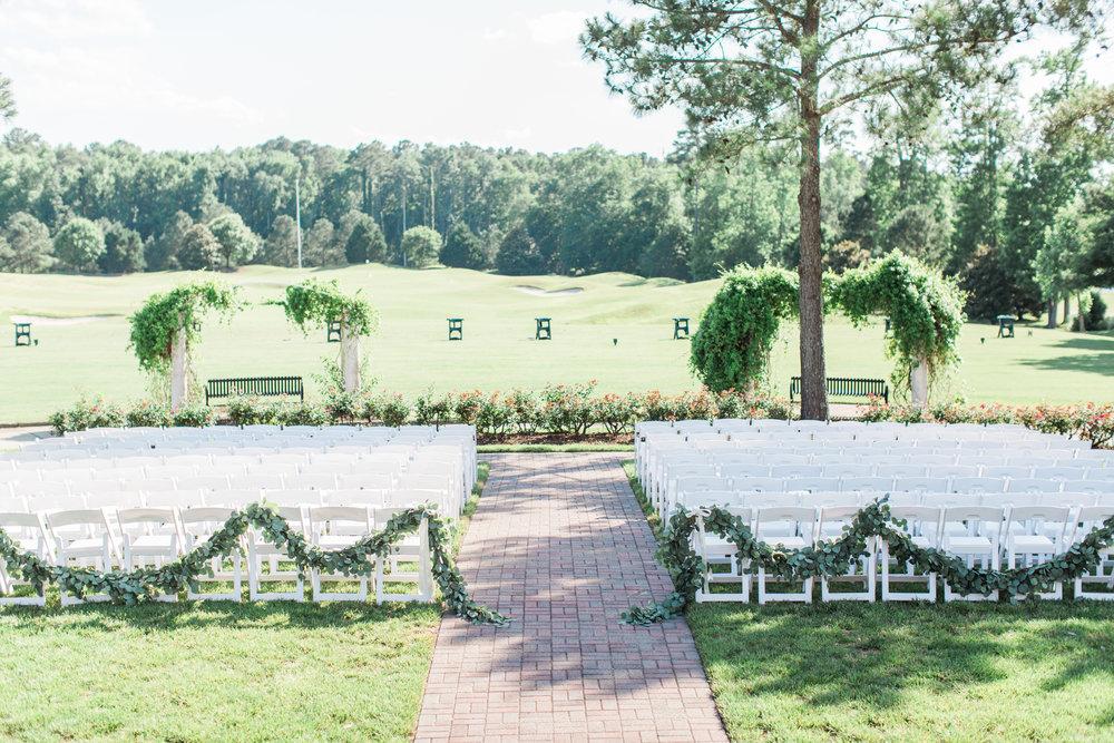 Courtney Inghram Signature at West Neck Wedding Florist Virginia Beach Virginia