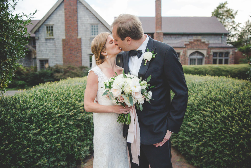 Courtney Inghram Hampton Roads Wedding Florist Hermitage Museum in Norfolk Virginia