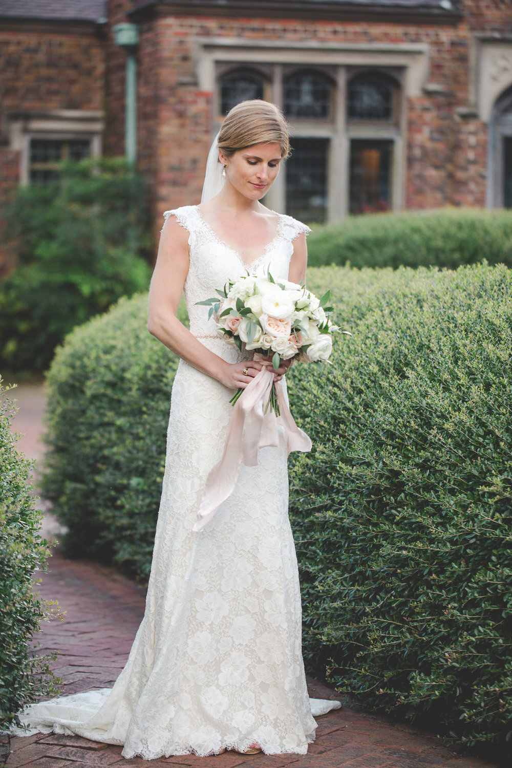 Courtney Inghram Virginia Wedding Florist Hermitage Museum Norfolk Virginia
