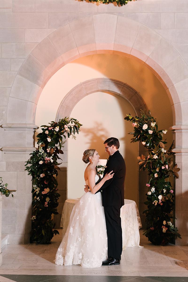 Courtney Inghram Chrysler Museum of Art Norfolk Virginia Wedding Florist