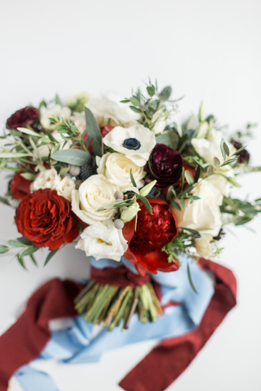 Courtney Inghram Early Mountain Vineyard Charlottesville Virginia Wedding Florist