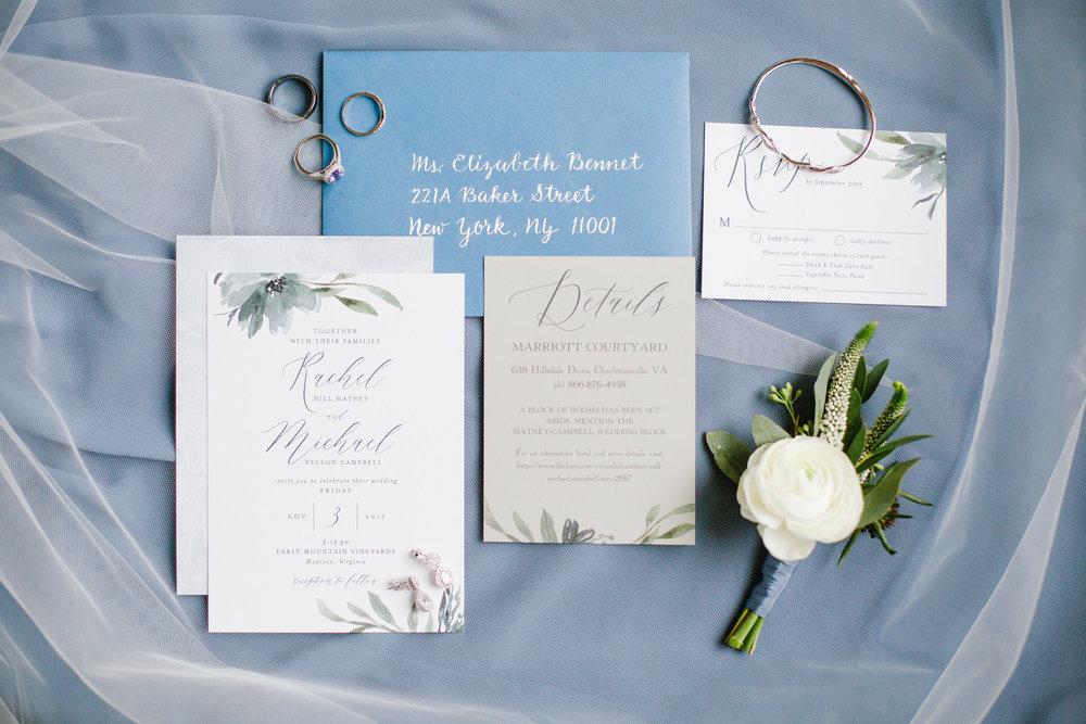 Courtney Inghram Floral Design Virginia Charlottesville Early Mountain Vineyard Wedding Florist