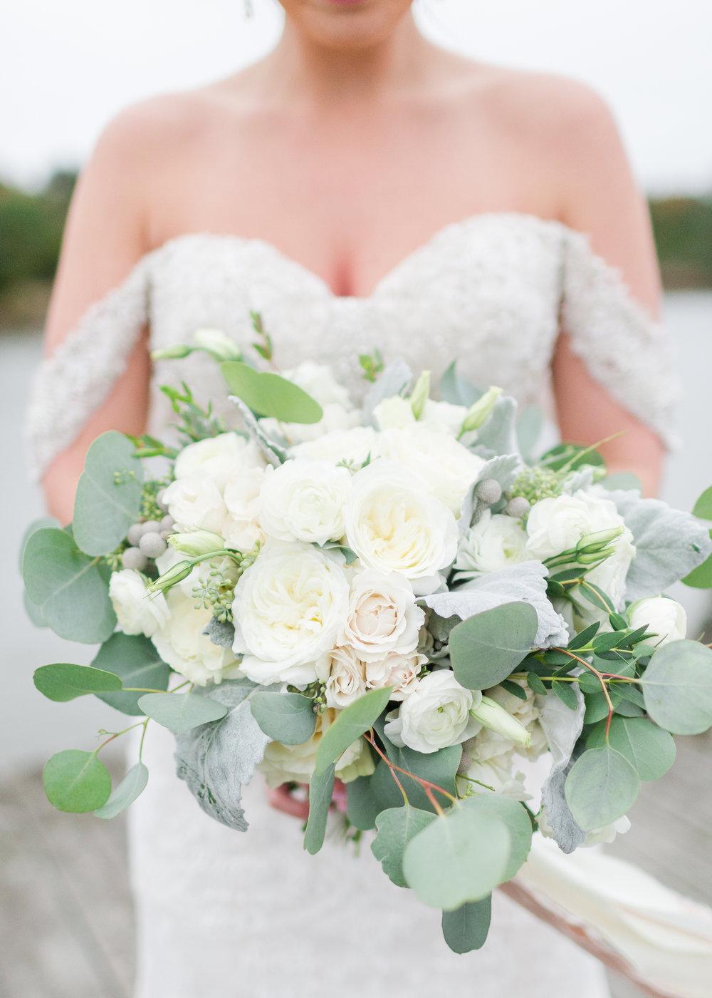 Courtney Inghram Hampton Roads Virginia Wedding Florist Fall Wedding