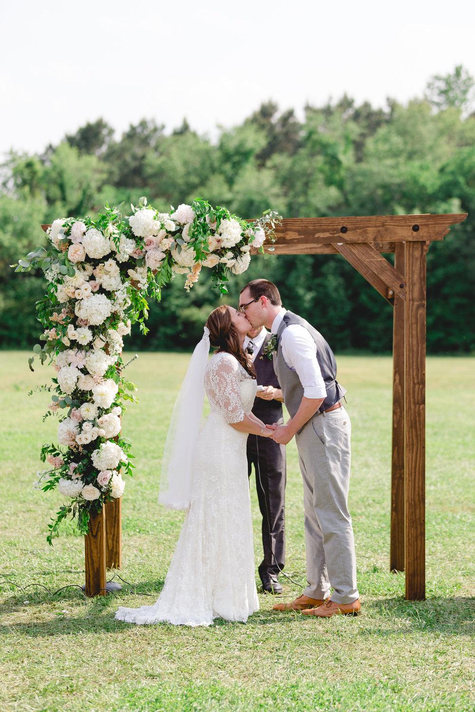 Courtney Inghram Williamsburg Winery Wedding Florist