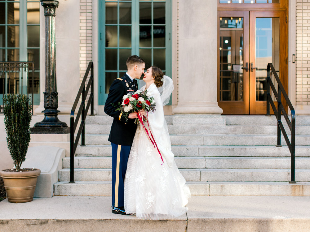 Courtney-Inghram-Historic-Post-Office-Hampton-Virginia-Wedding-Floris