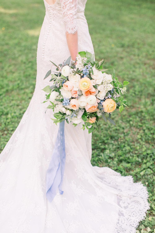 Courtney Inghram Inn at Westwood Farm Wedding Florist