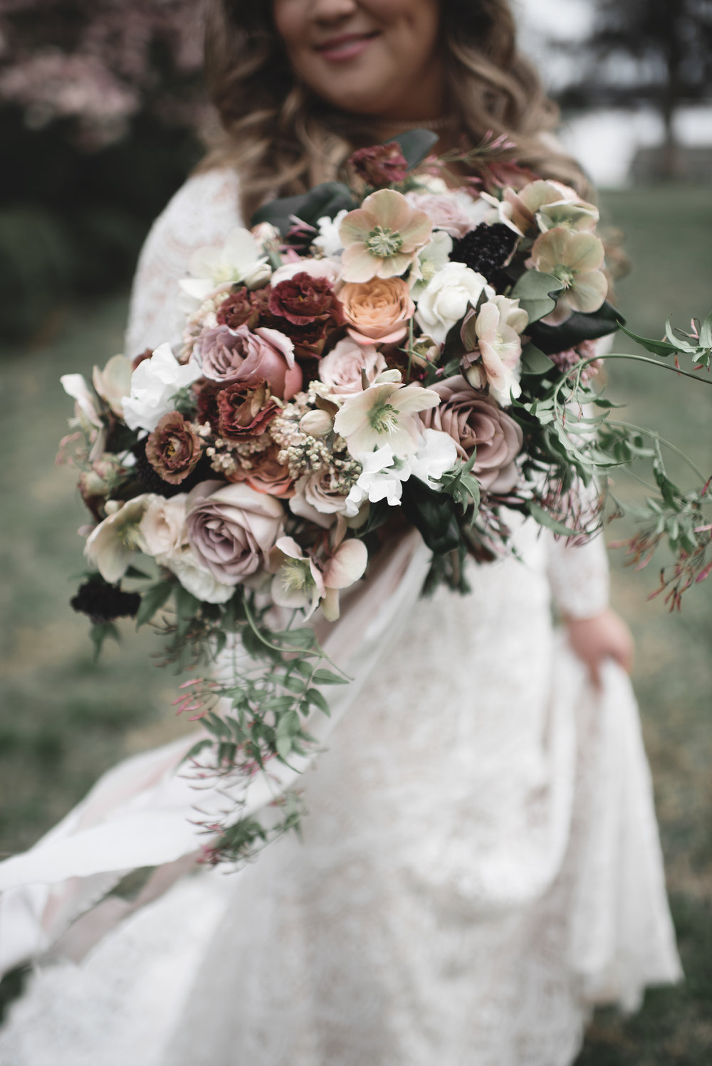 Courtney Inghram Westover Plantation Charles City Wedding Florist