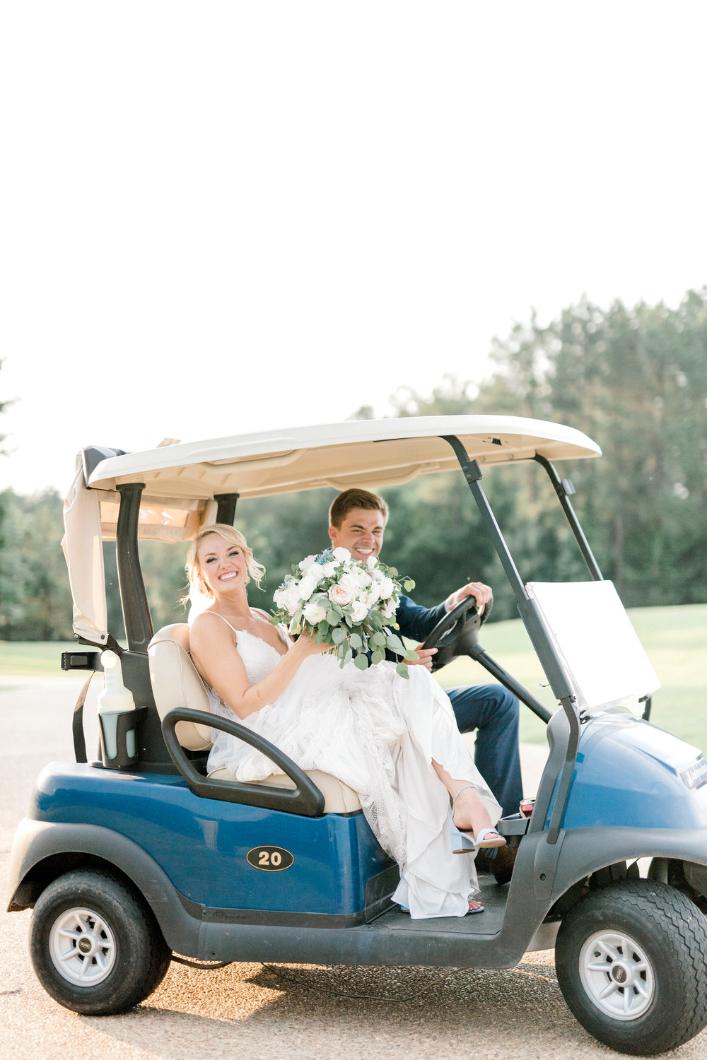 Courtney Inghram Independence Golf Club Richmond Wedding Florist