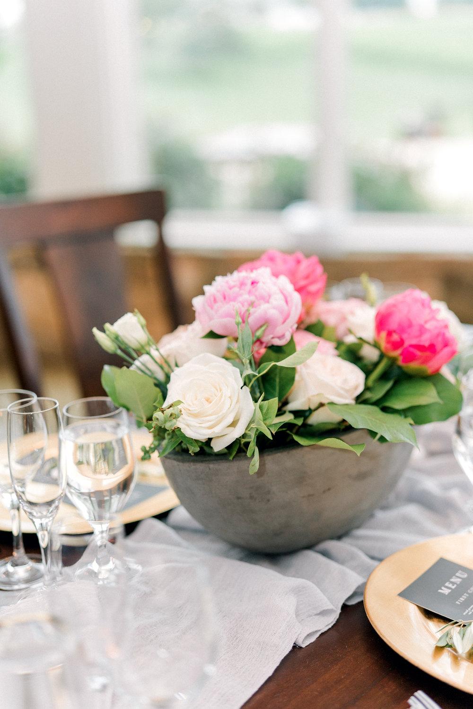 Courtney Inghram Stone Tower Winery Wedding Florist Virginia