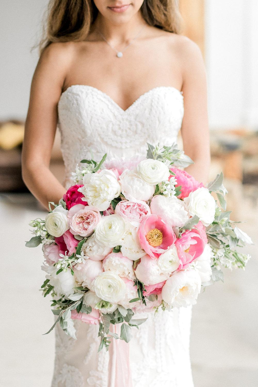 Courtney Inghram Stone Tower Winery Wedding Florist Washington DC Wedding