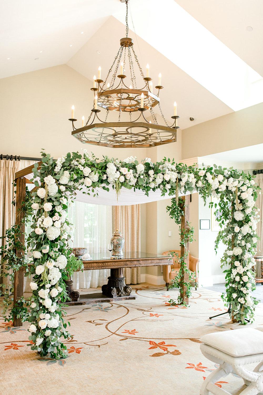 Courtney Inghram Salamander Resort Washington DC Persian Wedding Florist