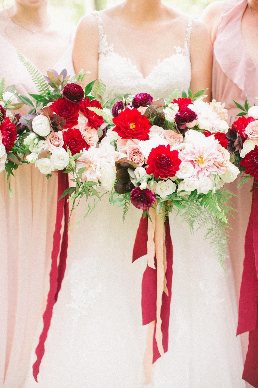 Fall Ashton Creek Vineyard Richmond Wedding Courtney Inghram Florist