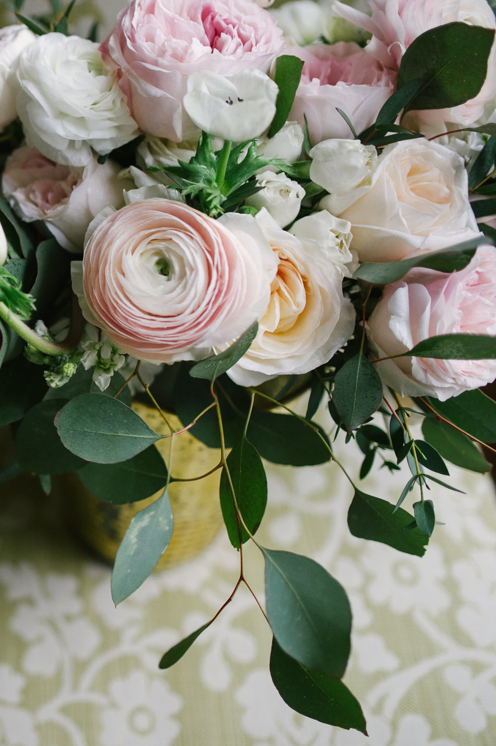Courtney Inghram Early Mountain Vineyard Charlottesville Wedding Florist