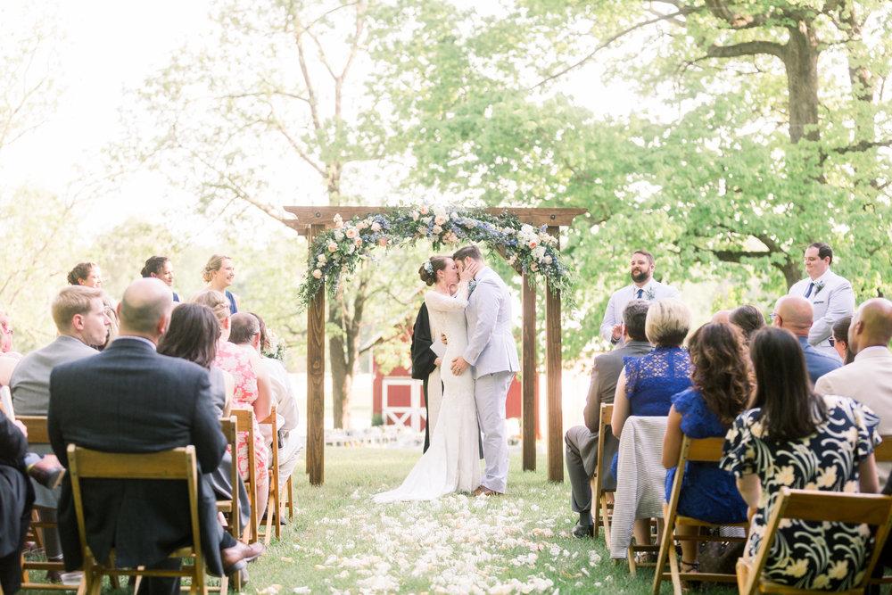 Courtney Inghram Inn at Westwood Farm Charlottesville Virginia Wedding Florist