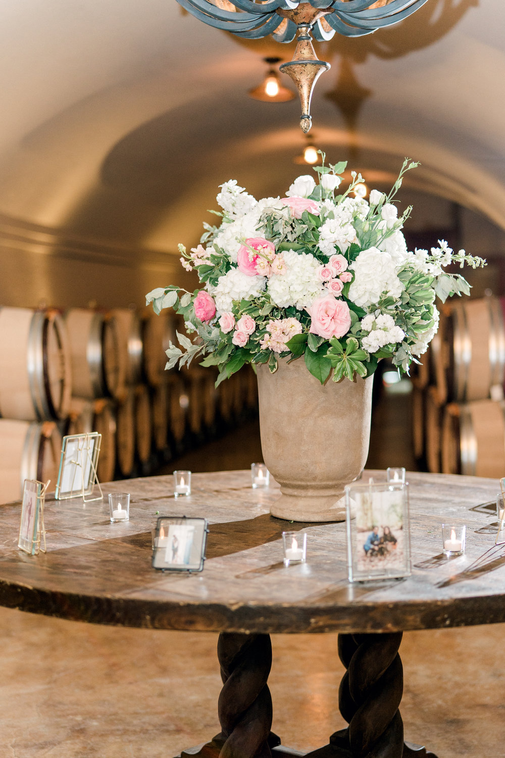 Courtney Inghram Stone Tower Winery Leesburg Virginia Wedding Florist