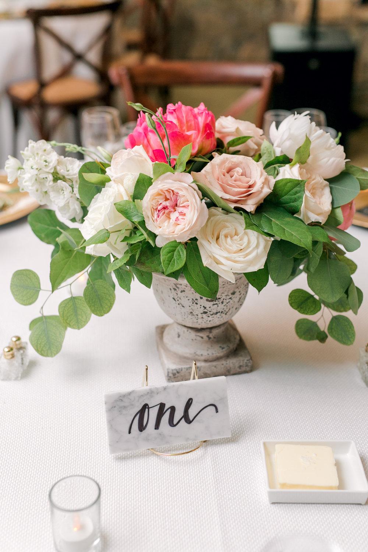 Courtney Inghram Stone Tower Winery Wedding Florist Leesburg Virginia