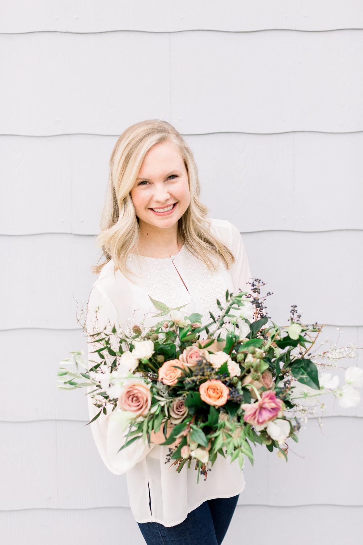 Courtney Inghram Norfolk Virginia Wedding Florist Business Education