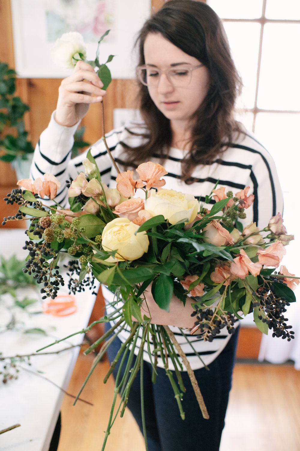 Courtney Inghram Norfolk Virginia Wedding Florist Education Workshop
