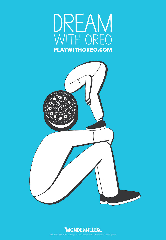 Oreo Head - Geoff McFetridge