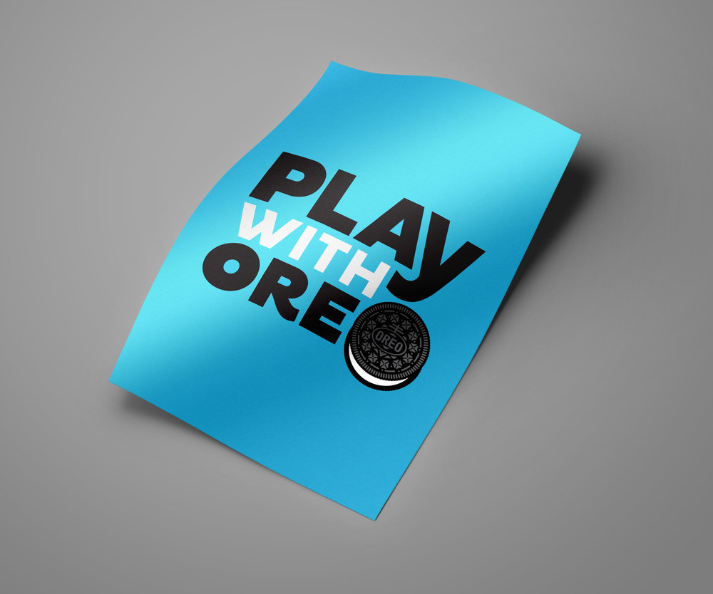 Play With Oreo - global campaign logo