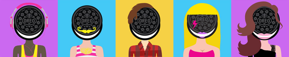 Oreo Heads Early Design Sketches