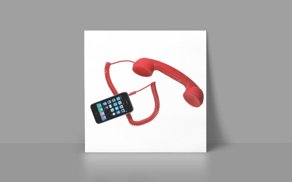 Retro mobile handset