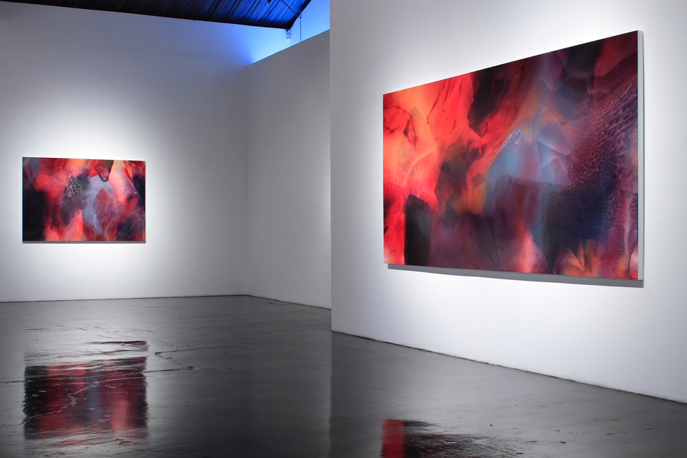 Jennifer Wolf: Edge of Miscibility at William Turner Gallery, Santa Monica, CA