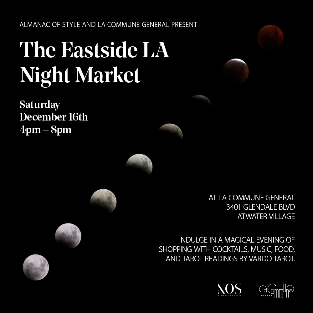 Super excited to be included in the first ever Night Market presented by our friends Almanac of Style. Check out our exclusive capsule collection for Almanac of Style  here