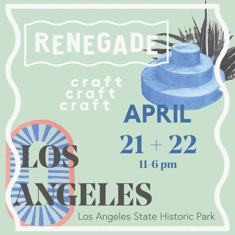 I'll be back at  Renegade Craft Fair  this year with my talented friend and booth mate  Ultra Violet Kids  - we'll be in booth #73. Looking forward to seeing you there LA!