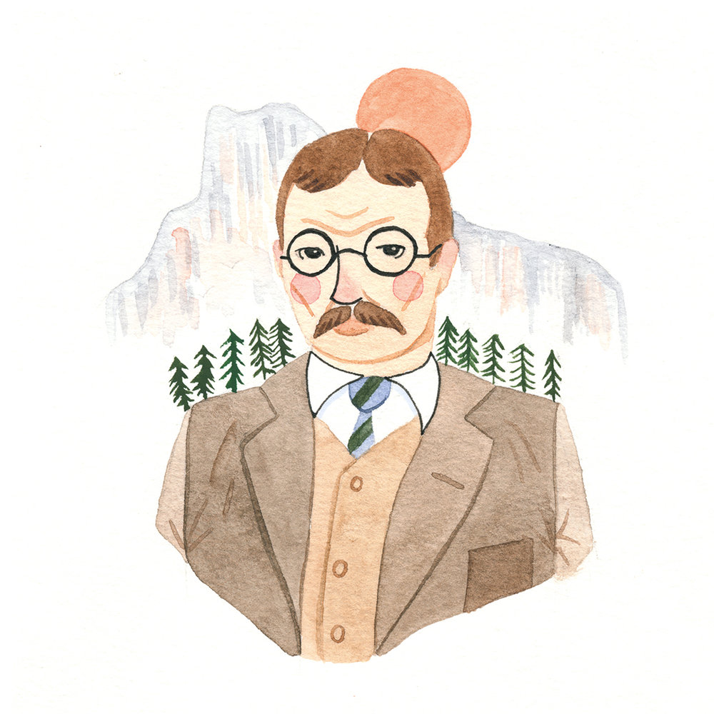 Theodore Roosevelt for President's Day 2017