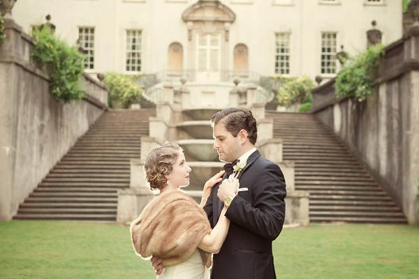 Great Gatsby Shoot at Swan House