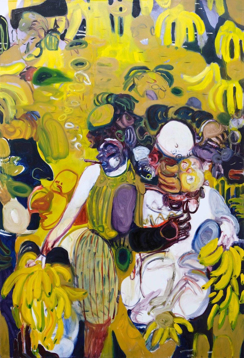 Fever Dancer  (2018) Oil on canvas, 115 x 170cm