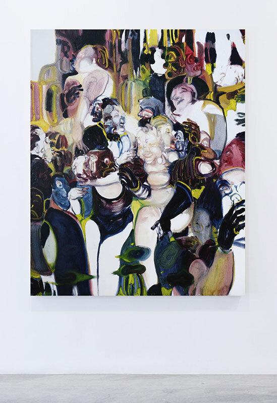 Pinch pool  (2017) Oil on canvas, 120 x 150cm
