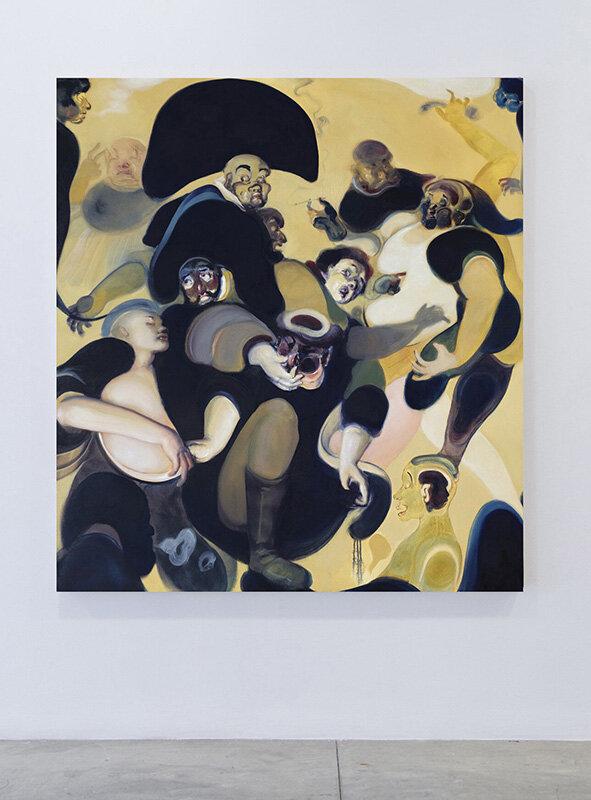 Dream sweat  (2017) Oil on canvas, 165 x 178cm