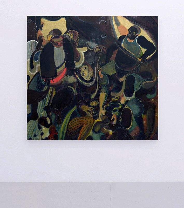 Prodigal  (2017) Oil on canvas, 165 x 175cm