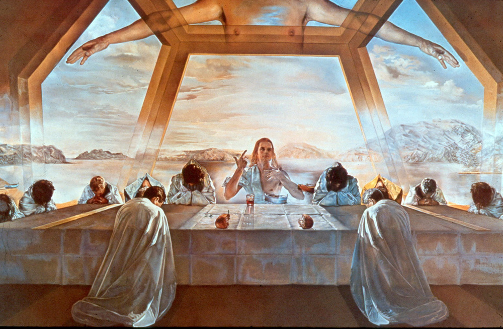 "Salvador Dali's ""The Sacrament of the Last Supper"""
