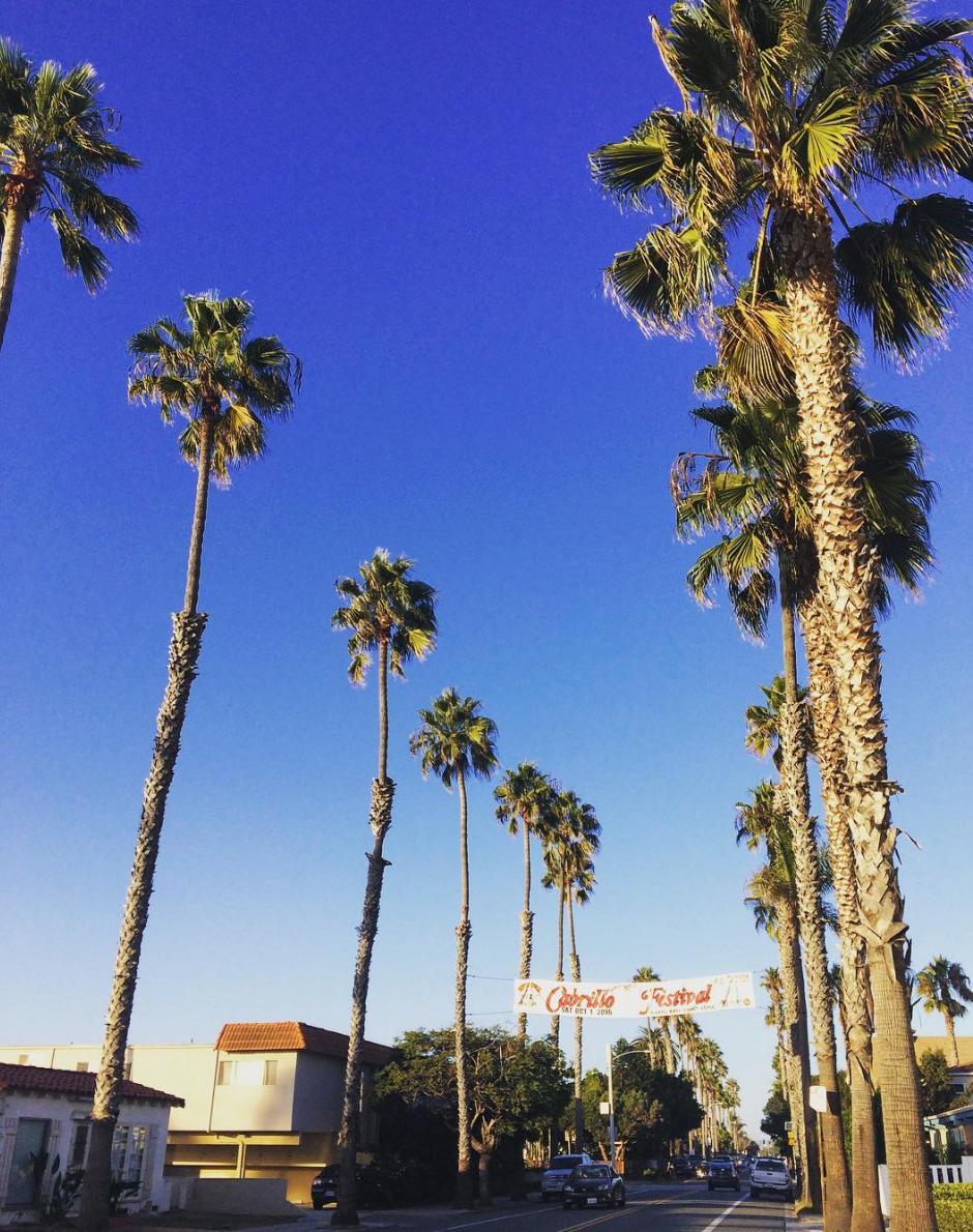 Ocean Beach, San Diego, my new hood.