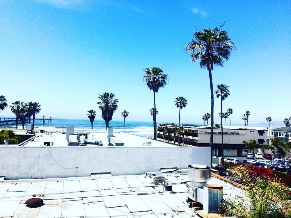 Ocean Beach, San Diego, CA.