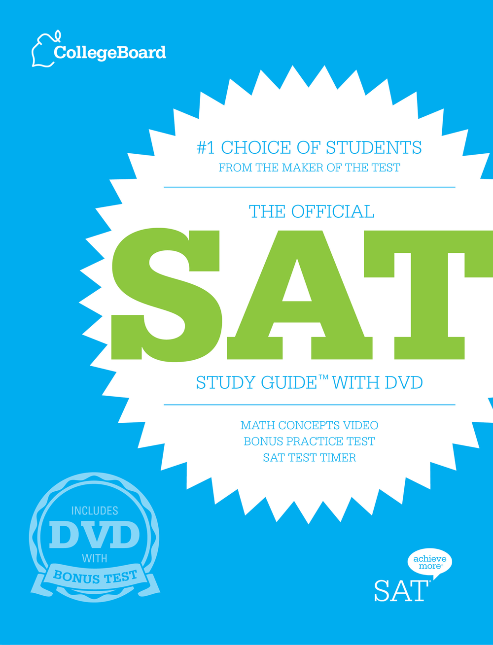 official SAT prep book