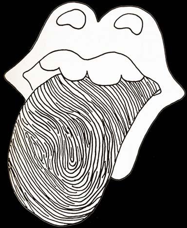 tongue print