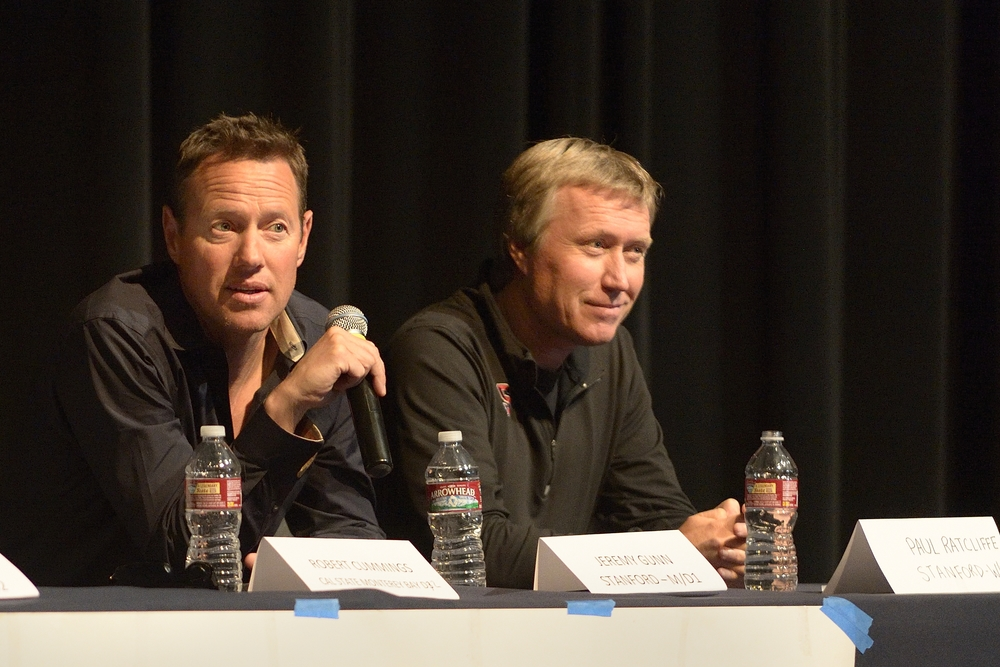 Jeremy Gunn, MEn's Head Coach, Stanford; Paul RatcliffE, Women's Head Coach, sTanford