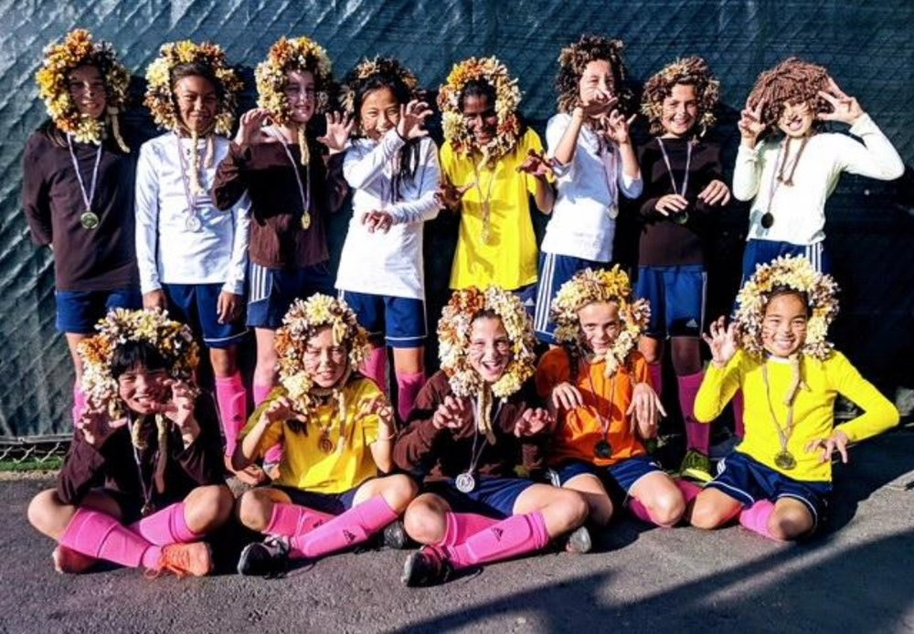 07G Olympique Lyonnais White - U11 - U13 Most Creative (Tied)