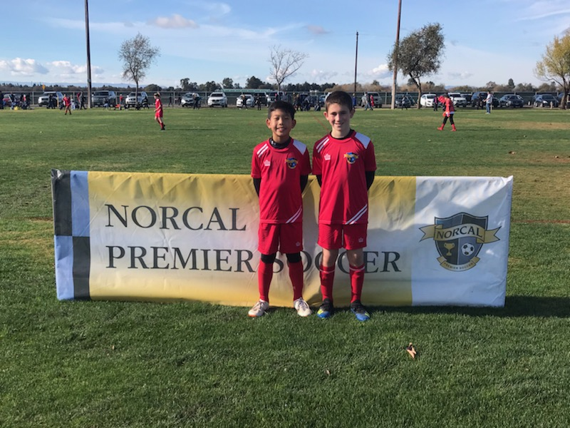 Luke Kurisu and Idan Garten - 07B ODP Region 2 Team players