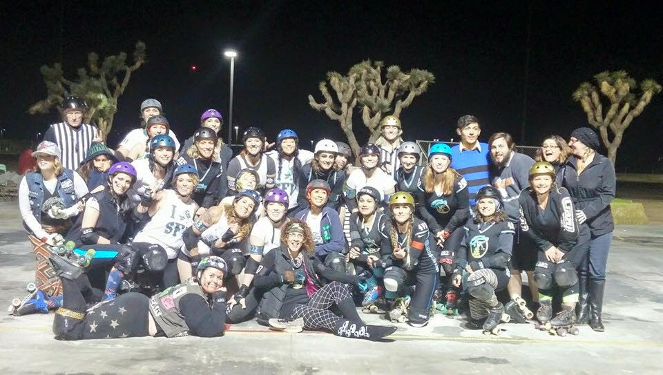 SFVRD's Wipeouts and the Mojave Rattleskaters