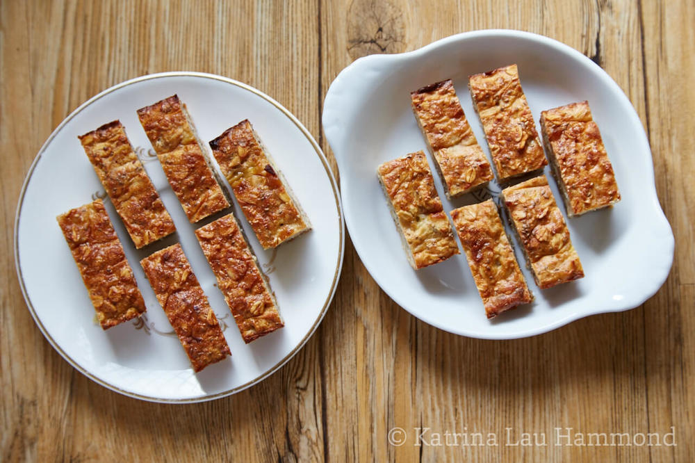 Super FON Bars: The regular version on the left and the nut-free version on the right