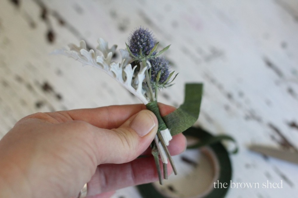 boutonnieres | thebrownshed.com
