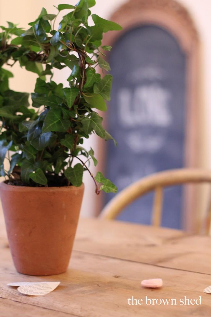 Valentine Party topiary