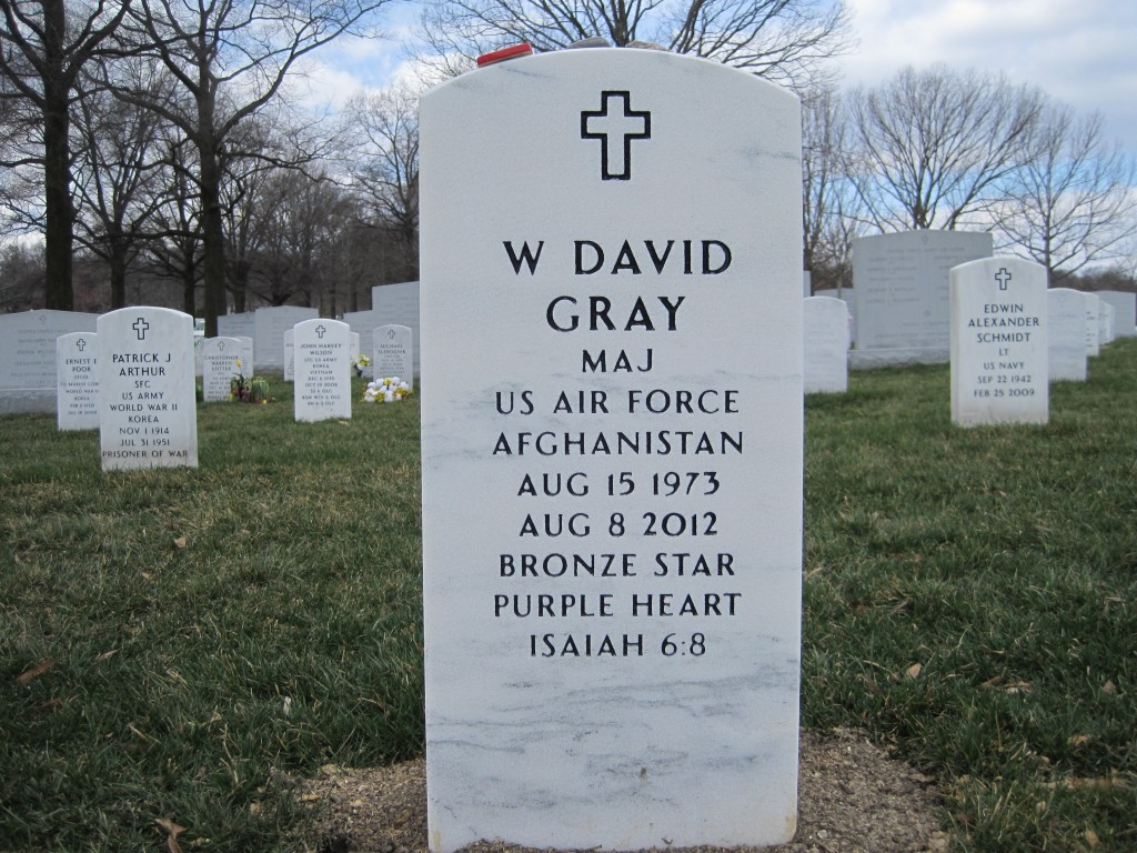 david gray - arlington national cemetary