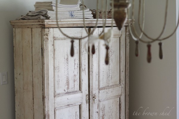 antique cupboard | thebrownshed.com