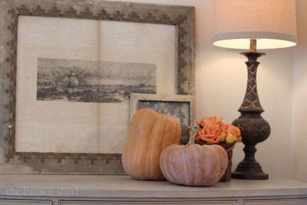 Fall decorations | thebrownshed.com